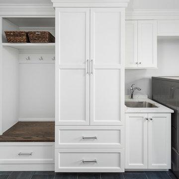 Transitional Kitchen & First Floor River Woods Remodel - Naperville