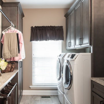 Transitional Kitchen & Laundry Remodel in St. Charles