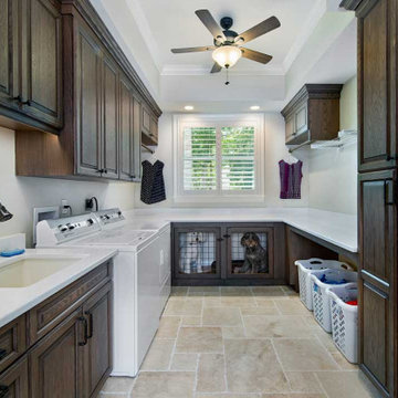 Transitional Laundry Room Remodel in Ft. Myers, FL