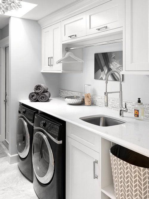Best Transitional Laundry Room Design Ideas Amp Remodel