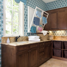 Traditional Laundry Room by Design Transformations