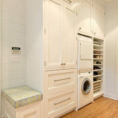 traditional laundry room by S.M. CONTRACTING INC