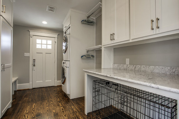 Transitional Laundry Room by Bella Vista Company