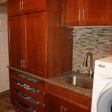 Traditional Laundry Room by Christopher Thomas Construction