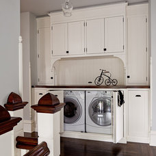 Contemporary Laundry Room by Jessica Helgerson Interior Design