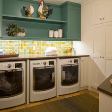Traditional Laundry Room by Eminent Interior Design