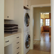 Traditional Laundry Room by Jetton Construction, Inc.