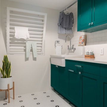 Upper West Side Duplex Combination - laundry room
