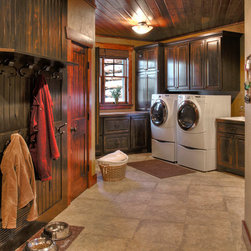 rustic mud room laundry room design ideas pictures