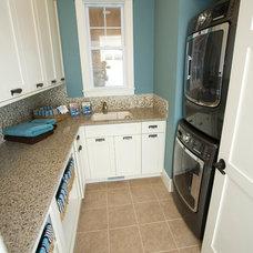 Traditional Laundry Room by RVP Photography