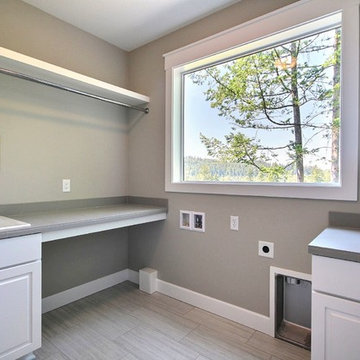 Upstairs Laundry Room - The Deerhaven in Camas, Wa