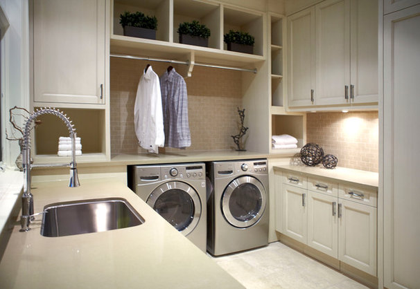 Traditional Laundry Room by Parkyn Design