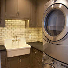Traditional Laundry Room by Robert Baumann + Associates