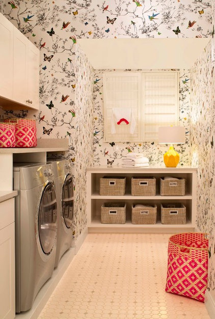 Contemporary Laundry Room by Design Transformations