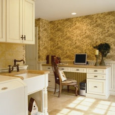 Traditional Laundry Room by Superior Woodcraft, Inc.