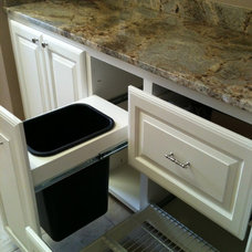 Traditional Laundry Room by Concept Construction