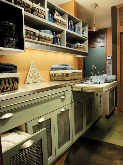Pull-Out Countertop Home Design Ideas, Pictures, Remodel and Decor