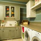 Mud Room Laundry Room Traditional Laundry Room