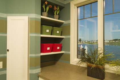 Traditional Laundry Room by Rivertown Homes by Design