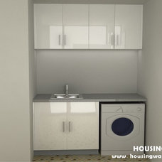 Modern Laundry Room by Housing Industry Co., Ltd