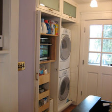 Traditional Laundry Room by Lorna Saunders Interiors
