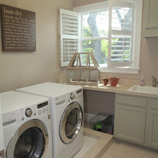 Craftsman Laundry Room by Devonshire Custom Homes