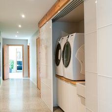 Contemporary Laundry Room by NZ Builders ltd