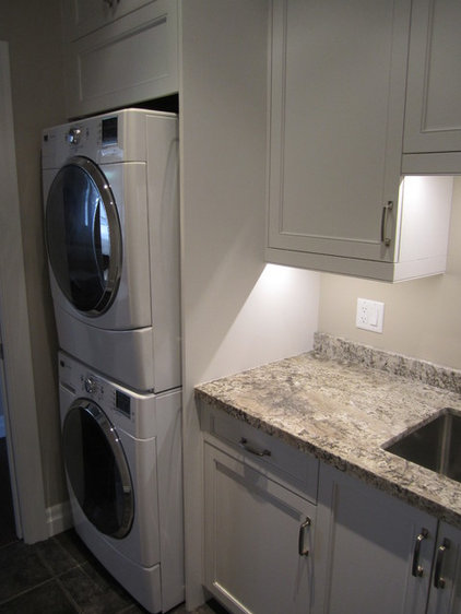 Traditional Laundry Room by JWS Woodworking and Design Inc.