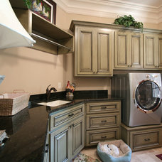 Traditional Laundry Room by Walker Woodworking