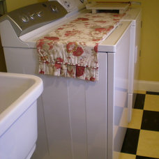 Traditional Laundry Room by Julie Murray