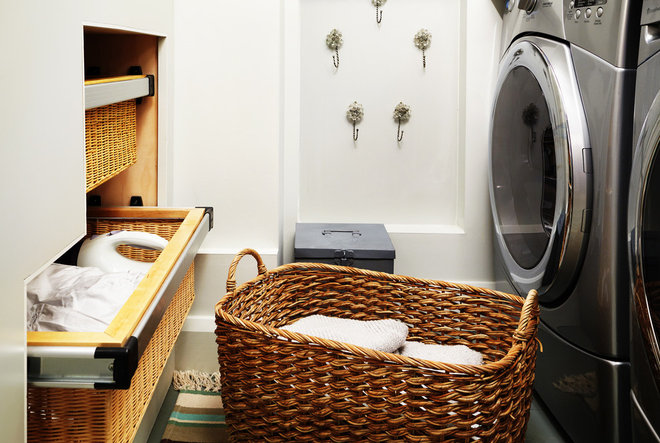 Contemporary Laundry Room by Sealy Design Inc.
