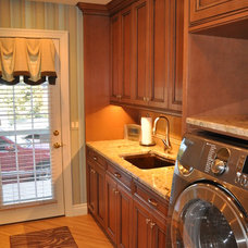 Traditional Laundry Room by Royston Design + Contracting