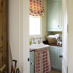 traditional laundry room by Wendi Young Design