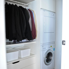 Modern Laundry Room by Gaile Guevara
