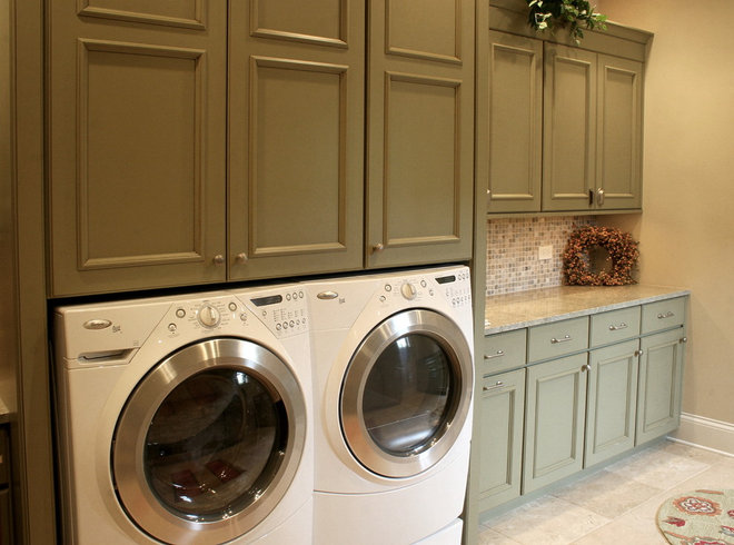 Traditional Laundry Room by O'Connor Brehm Design-Build