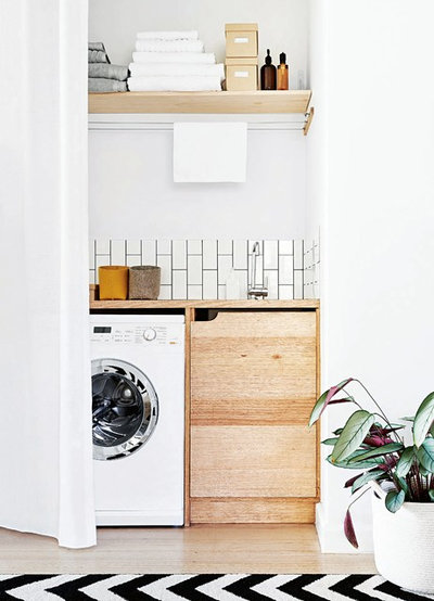 Scandinavian Laundry Room by By Bruno