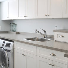 Traditional Laundry Room by Tanya Schoenroth Design