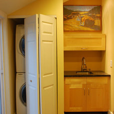 Modern Laundry Room by J & M Remodel and Repair
