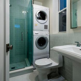 Foto på en funkis tvättstuga