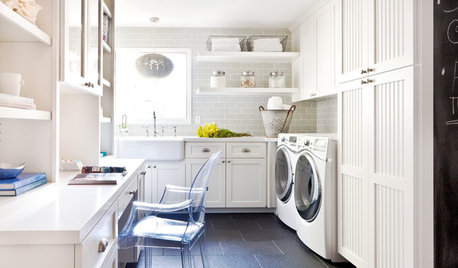 Designs for Living: Cheerful Laundries