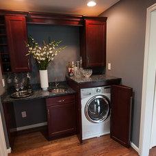 Laundry Room by DeVol Design.Build.Remodel, LLC
