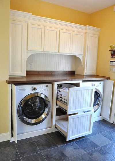 Contemporary Laundry Room by Davetta Moore Designs