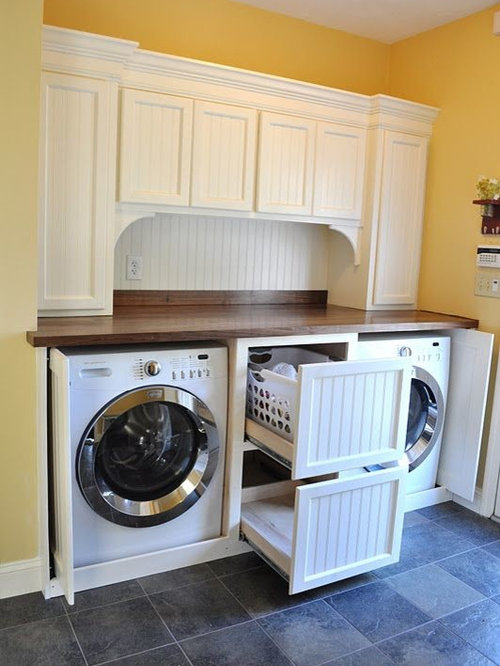 Pull-out Laundry Basket | Houzz
