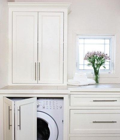 Scelti da voi: come inserire una lavatrice in un piccolo bagno