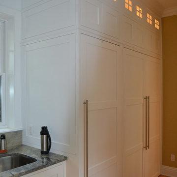 White Inset Kitchen & Annex