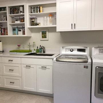 White Laundry / Pantry