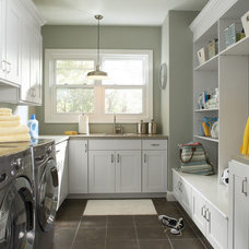 Traditional Laundry Room by Gerhards - The Kitchen & Bath Store