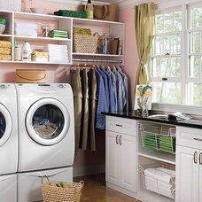 Traditional Laundry Room by Posh Spaces