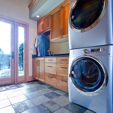 Contemporary Laundry Room by Bonin Architects &  Associates