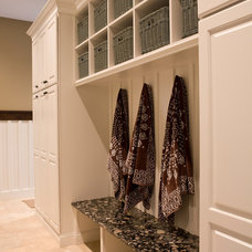 Traditional Laundry Room by Village Kitchen & Bath Design